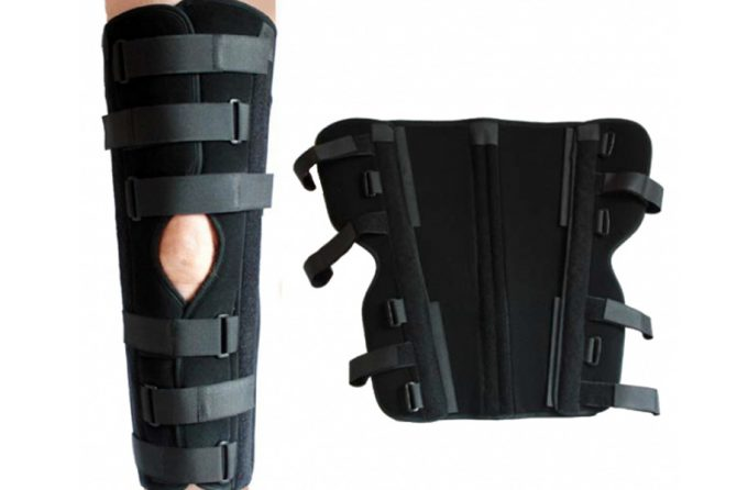 Knee Immobilizer Articulated
