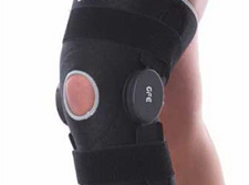 Knee Brace With Graduated Control